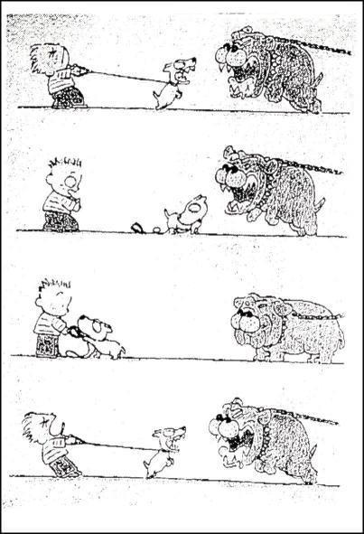 כלב פחדן